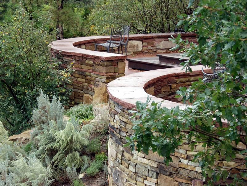 Charles Seha Professional Landscape Designer in Rochester, Minnesota -  Unique Sculptures and Sculptural Element Design for Homes and Businesses
