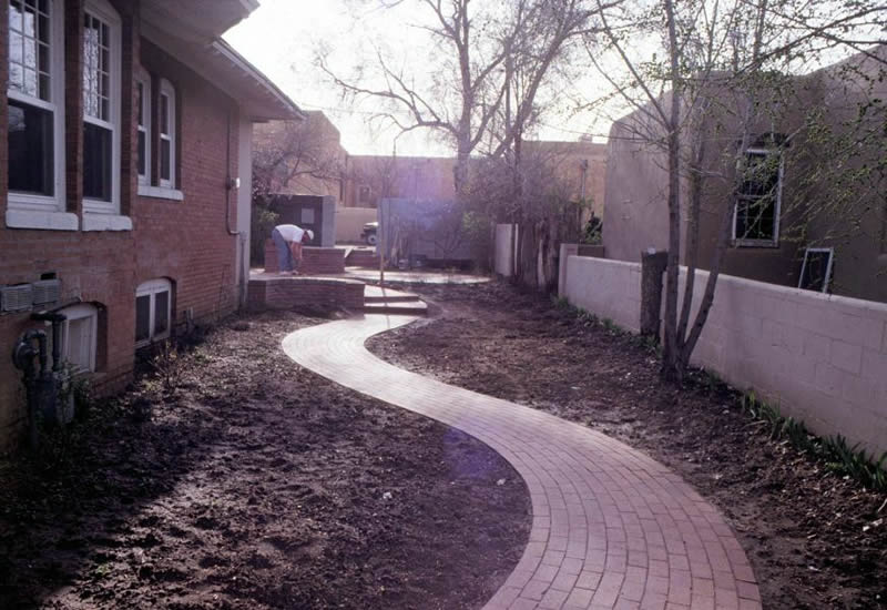 Charles Seha Professional Landscape Designer in Rochester, Minnesota -  Home exterior stone steps and walkways